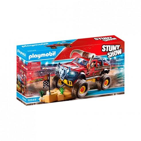 STUNT SHOW MONSTER TRUCK HORNED 70549...